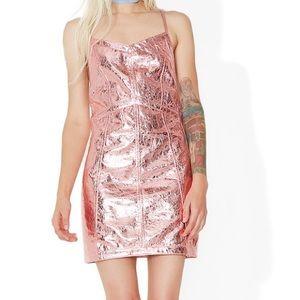 For Love and Lemons Metallic Luna Dress